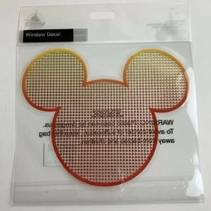 Disney Parks Mickey Mouse Window Decal